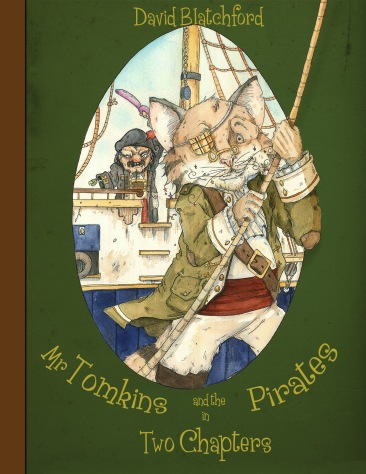 """Mr Tomkins and the Pirates"" Cover"