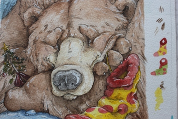 Christmas Bear Original
