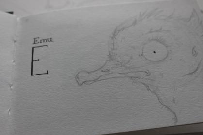 Emu Sketchbook