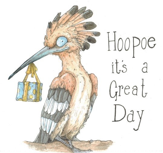 """""""Hoopoe you Have a Great Day"""""""