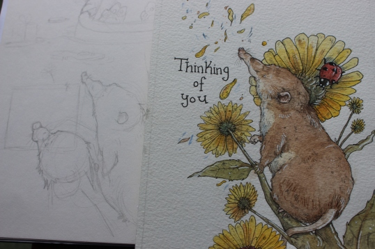Thinking Of You Sketchwork
