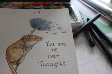 You are in Our Thoughts Original