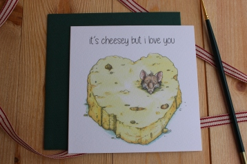 """Its Cheesey but I Love you"""