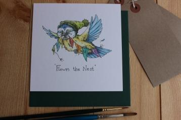 """Flown the Nest"""