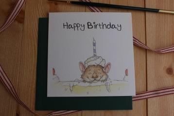 """""""Happy Birthday"""" Mouse"""