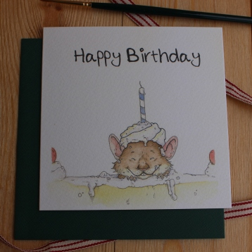 """Happy Birthday"" Mouse"