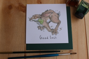 """Good Luck"" Hare"