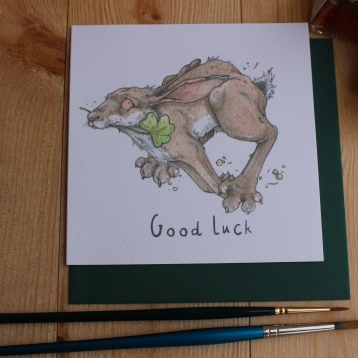 """Good Luck"" Hare"