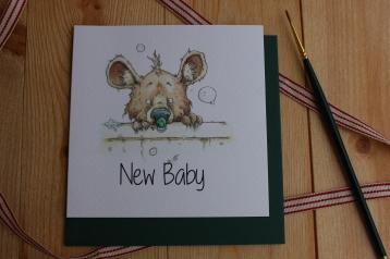 """""""New Baby"""" Bear"""