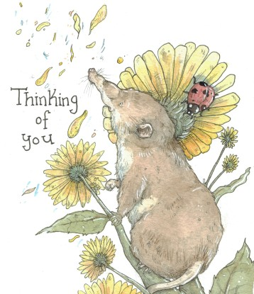 """""""Thinking of You"""" Vole"""